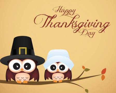 Owl Thanksgiving Wallpaper Android