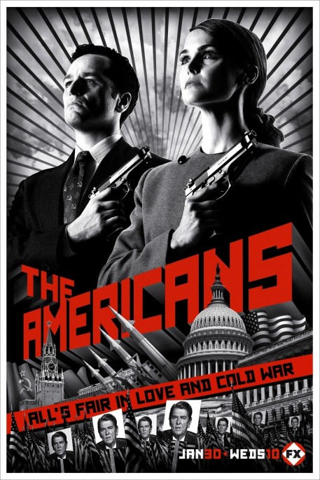 Americans Poster Cast