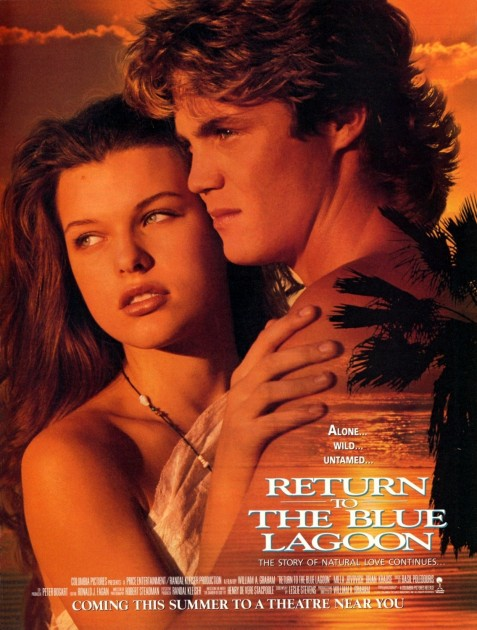 Return To The Blue Lagoon Xlg Movie