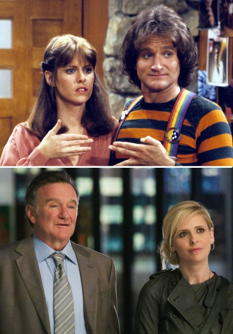 Robin Williams Mork Mindy The Crazy Ones Ctr