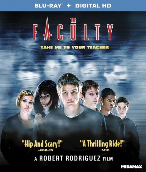 Faculty Blu Ray Cover Movie