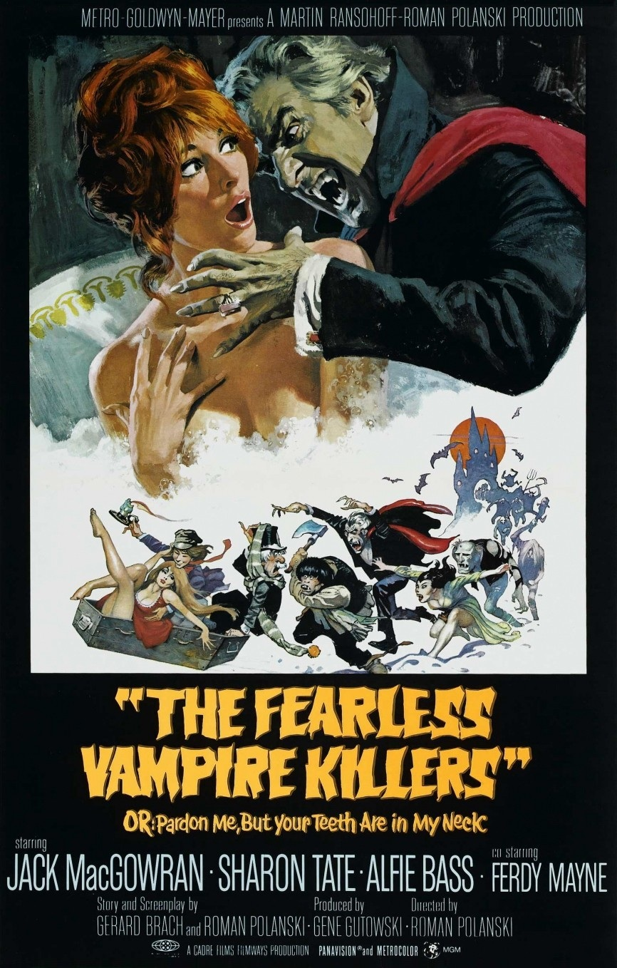 Fearless Vampire Killers Movie Poster