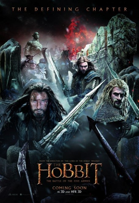 Battle Of The Five Armies Poster Movie
