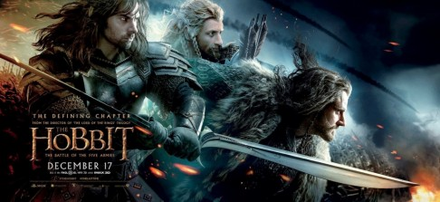 The Hobbit The Battle Of The Five Armies Banner Movie