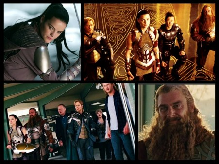 Lady Sif And The Warriors Three Thor Marvel Next Spin Off Asgard Movie
