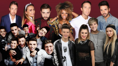 Factor Tour Line Up Contestants