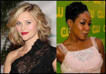 Reese Witherspoon Curled Out Bob Tichina Arnold Short Curls