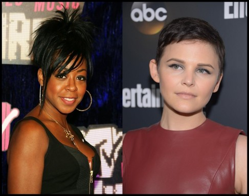 Tichina Arnold Spiked Hair Ginnifer Goodwin Pixie