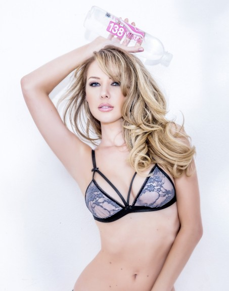 Tiffany Toth Hot Photos Water Lingerie Photoshoot
