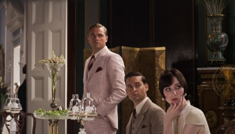 Still Of Leonardo Dicaprio Tobey Maguire And Elizabeth Debicki In Marele Gatsby And Leonardo Dicaprio