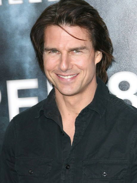 Tom Cruise With Long Hairs