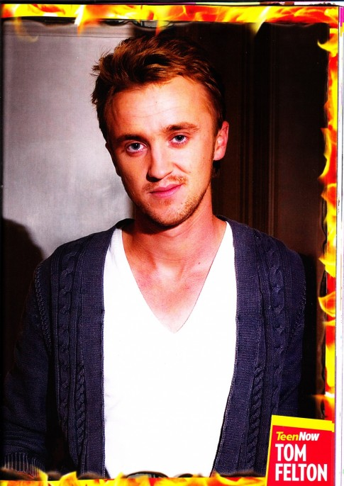 Tom Felton Shared Photo Uk