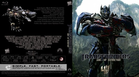 Getdvdcovers Transformers Age Of Extinction Custom Bd Cover Pips Cover