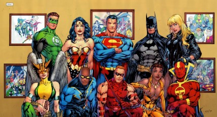 Justice League Of America Group Photo Batman Vs Superman Avengers Captain America Spider Man Is This The Golden Age Of Superhero Movie