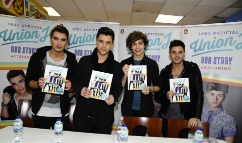Union J Cardiff Signing New Single Announcement
