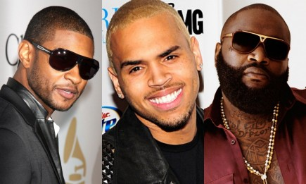 Usher Chris Brown Rick Ross Music