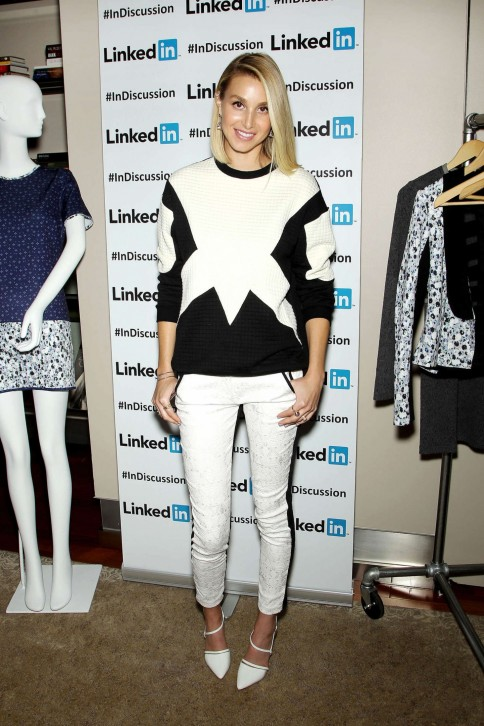Whitney Port Linkedin Discussion Series