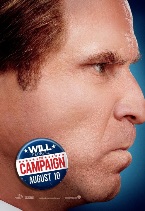 The Campaign Poster Will Ferrell Body