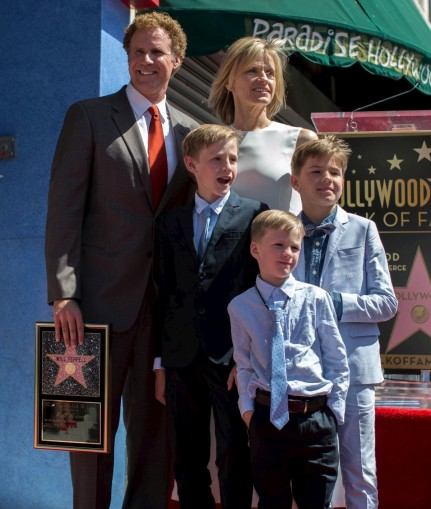 Will Ferrell Hollywood Walk Fame