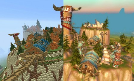 World Of Warcraft Minecraft Map Fhnvaabr Map