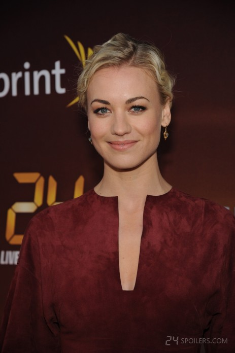 Yvonne Strahovski Live Another Day Premiere Screening Nyc