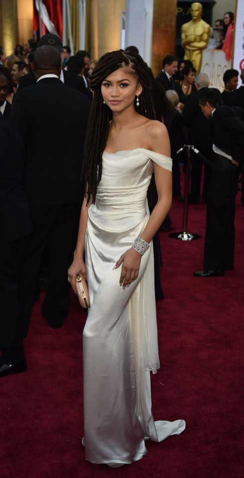 Zendaya Coleman Attend The Th Annual Academy Awards In Hollywood Oscars