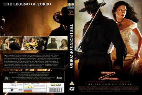 The Legend Of Zorro Front Movie